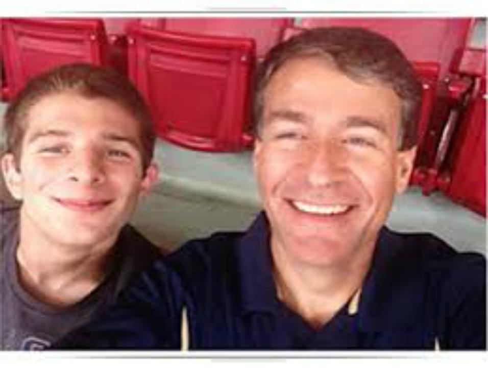 Scott Monette with son Matt/Monette