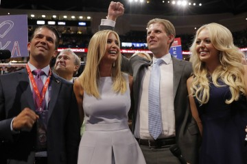 Trump children at RNC 2016. Photo Reuters/Brian Snyder