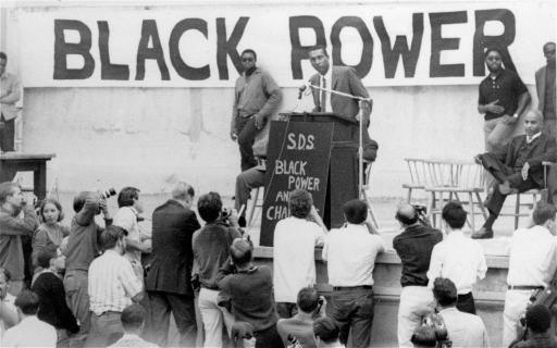Stokely Carmichael's Black Power speech at UC Berkeley in 1966