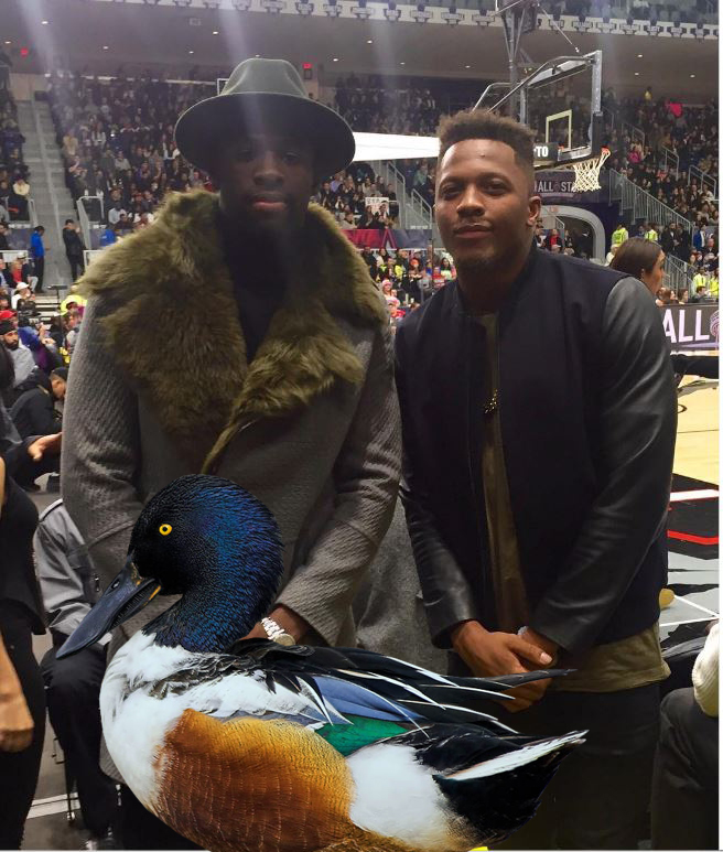 draymond with other ducks