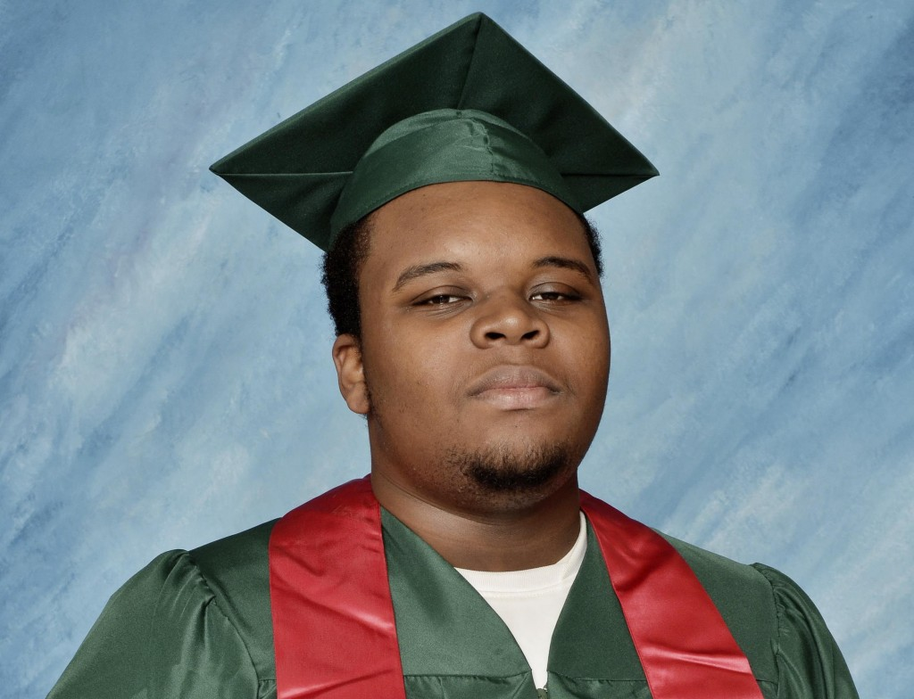 MIchael Brown, fatally shot by a Ferguson police officer.