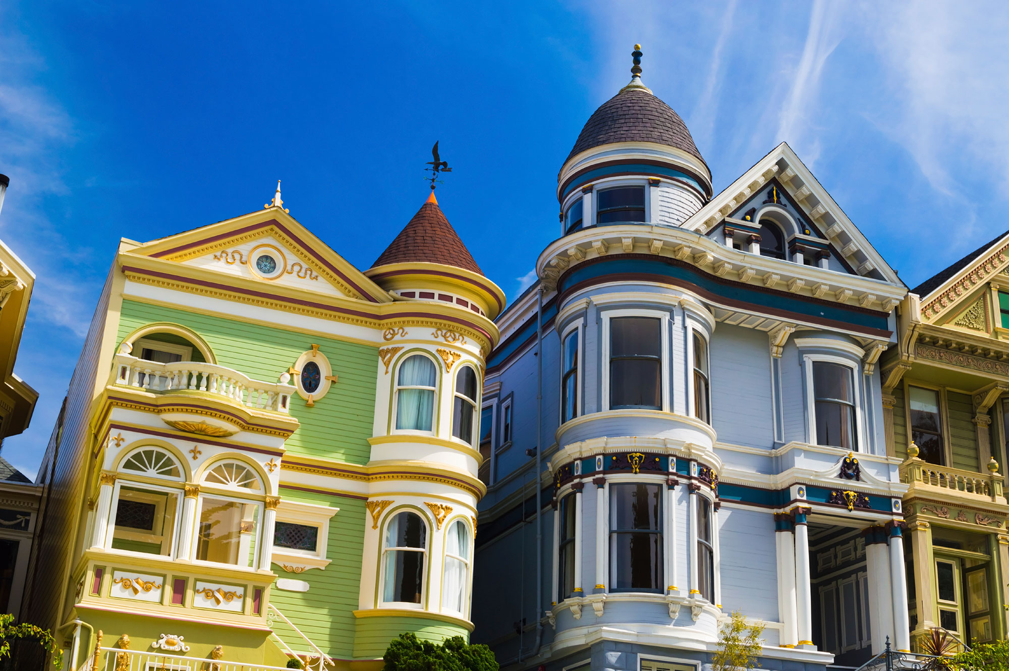 san francisco victorian houses history architectural designs