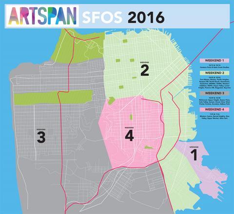 artspan map