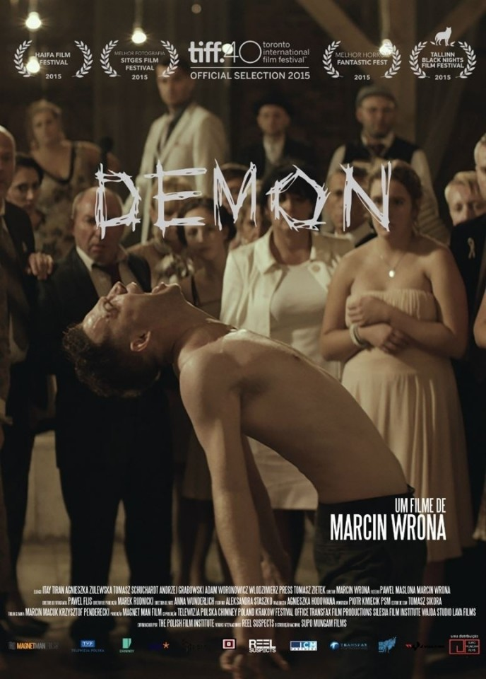 Itay Tiran's extraordinary body language makes Demon an unsettling and unforgettable viewing experience.