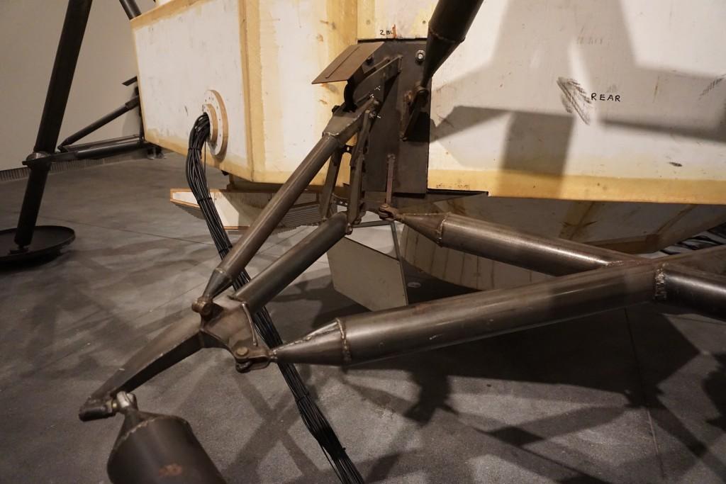 legs of the lander