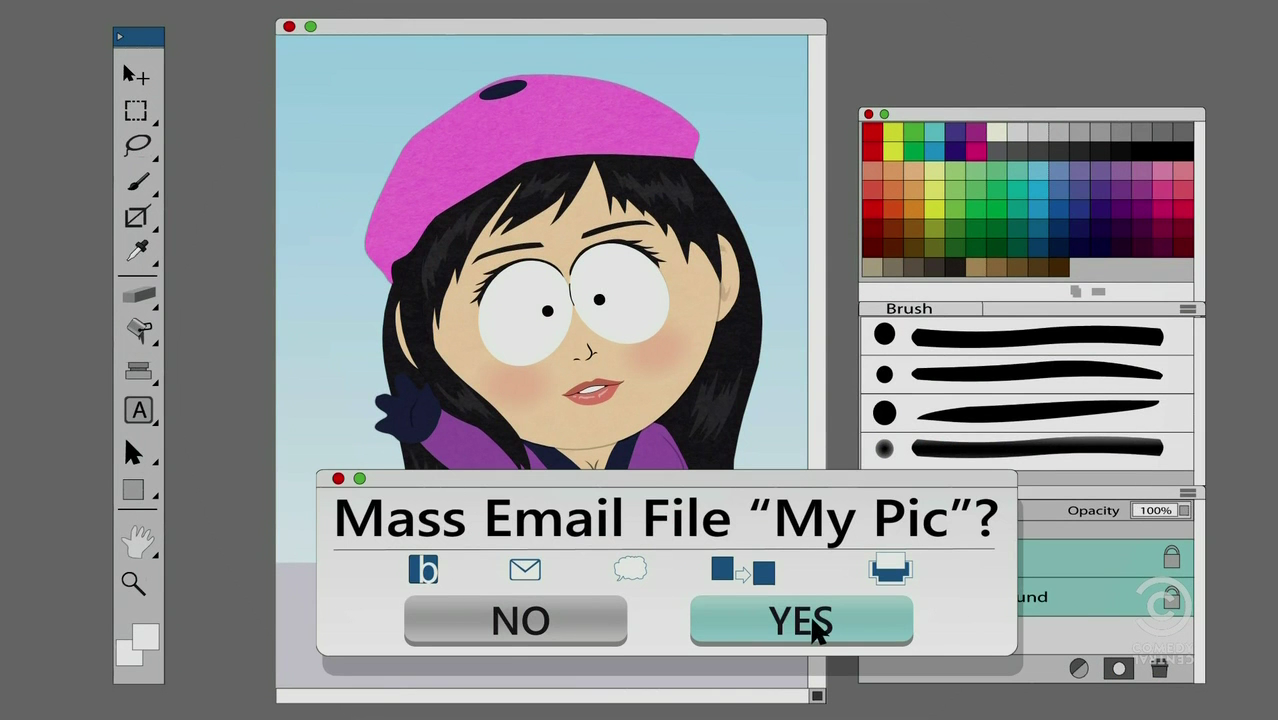 Courtesy of South Park Archives
