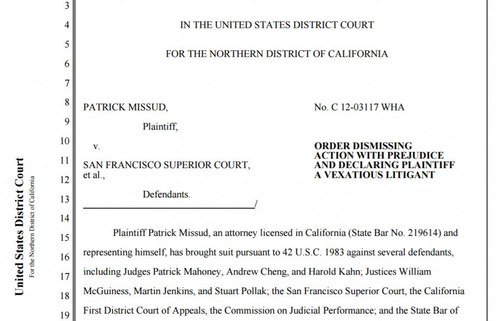 Missud v. San Francisco Superior Court