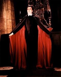 Sir Christopher Lee as Dracula