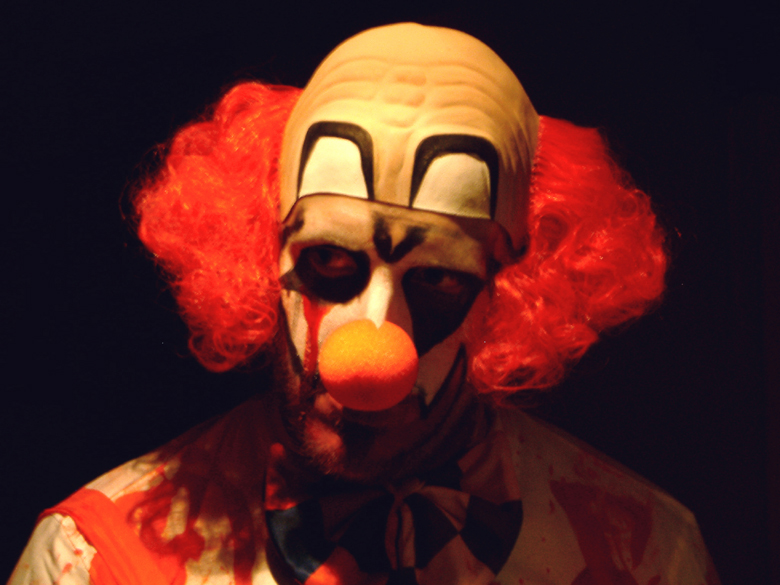 """Credit to <a href=""""https://commons.wikimedia.org/wiki/File:Scary_clown.jpg"""">Wikimedia Commons</a>"""