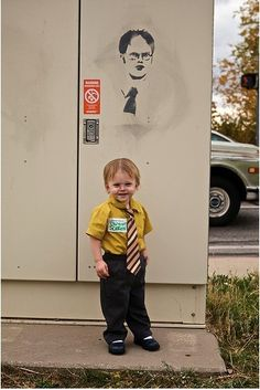 or dwight costume dwight - Last Minute Toddler Halloween Costumes