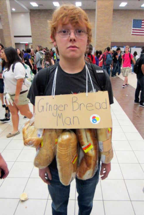 costume ginger