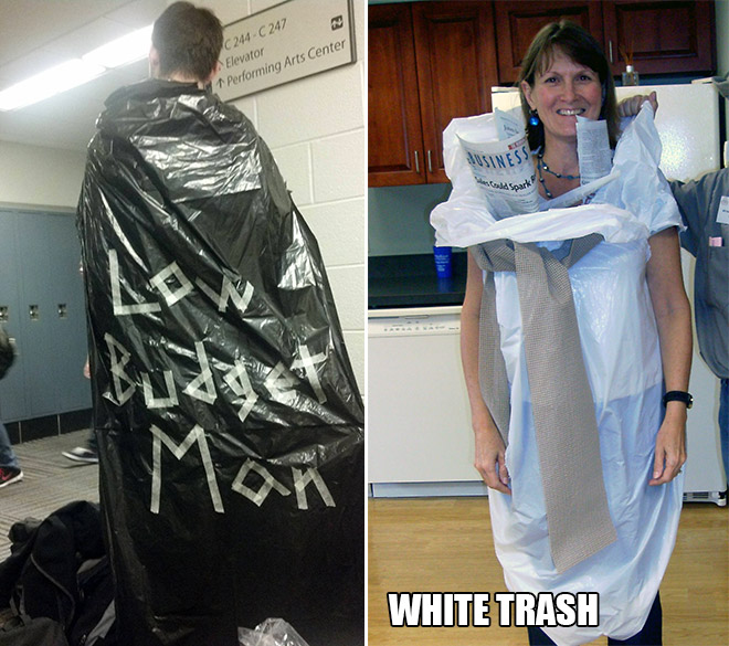 25 Best Lazy Halloween Costumes
