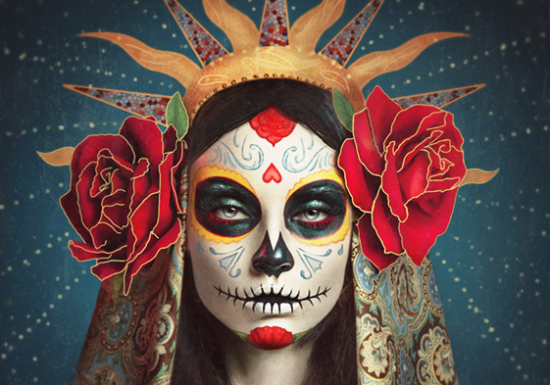 How To Paint A Dia De Los Muertos Skull Face