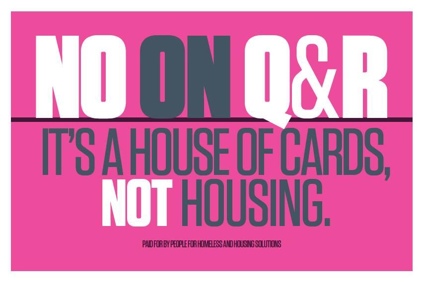 no on Q&R