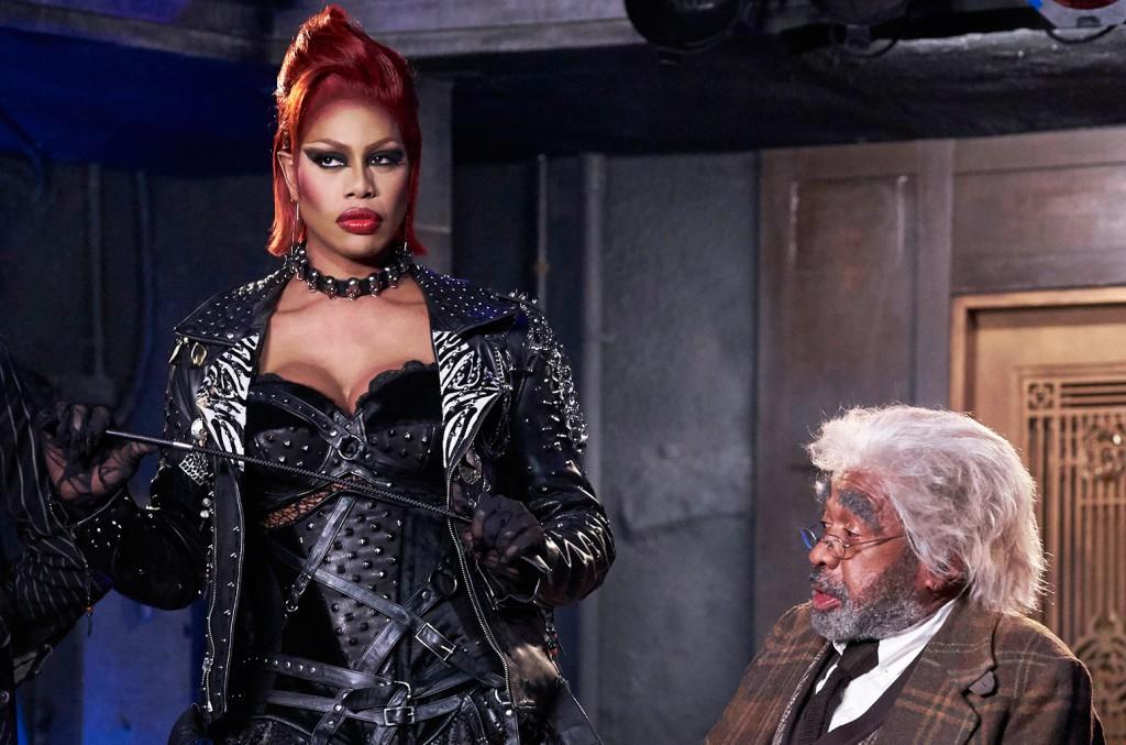 Laverne Cox as Dr. Frank N Furter