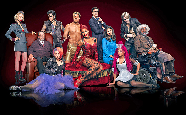 The cast of The Rocky Horror Picture Show: Let's Do the Time Warp Again