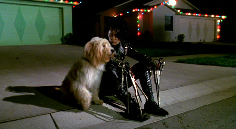 Edward Scissorhands Christmas