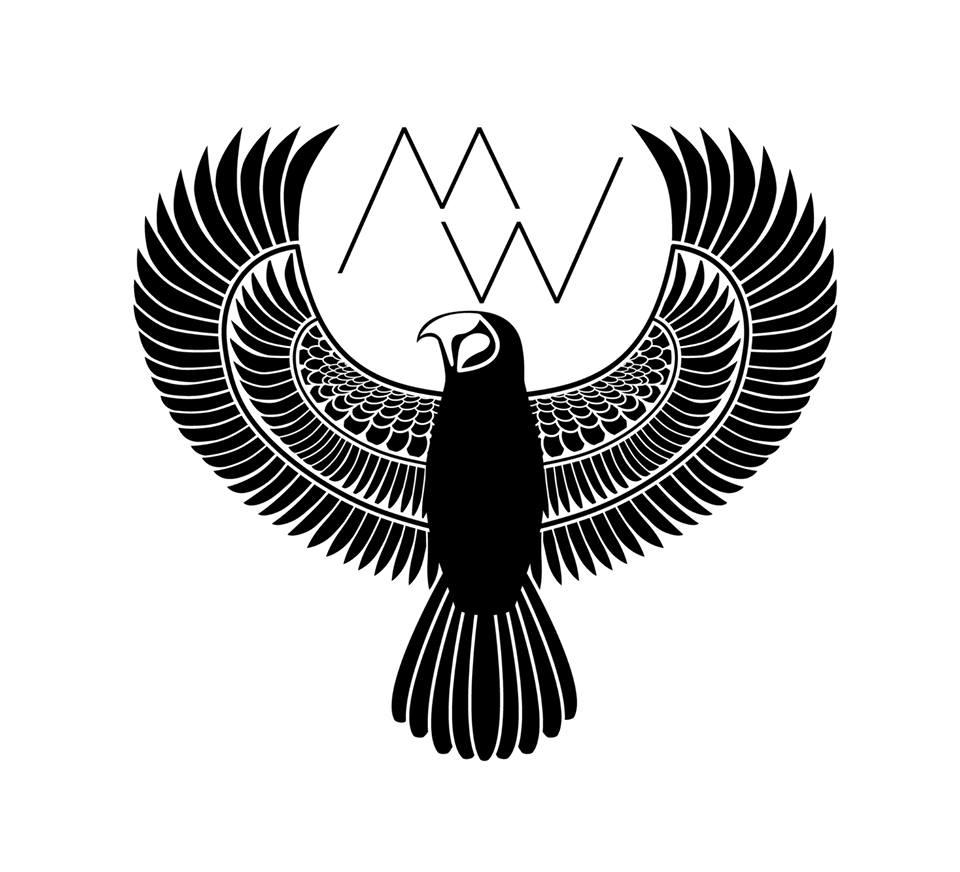 """Josh's """"Metal Wendler"""" logo, design by Jen Schnell."""