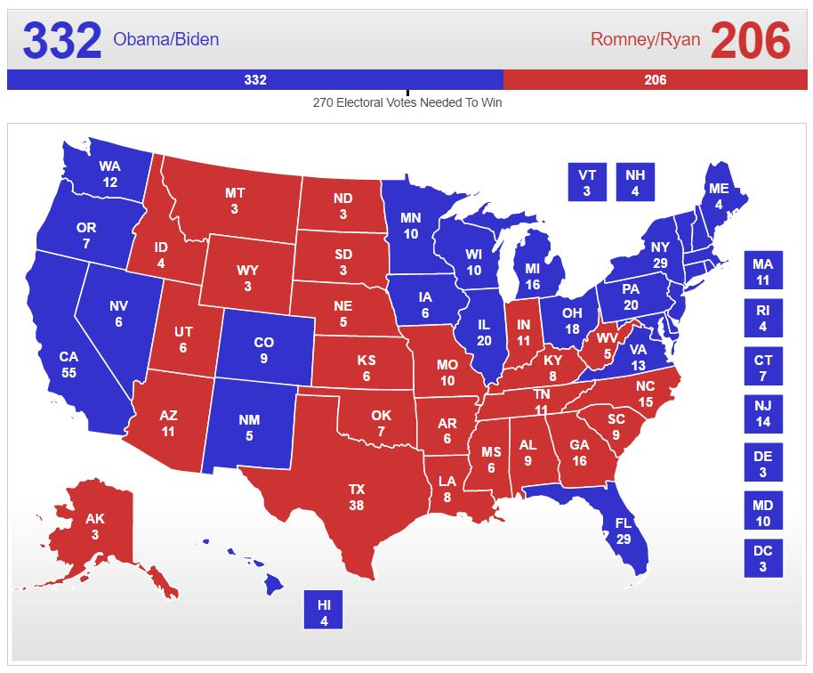 White Voters Elect Trump GOP Retains Congress And The Stock - Us presidential election 2012 map