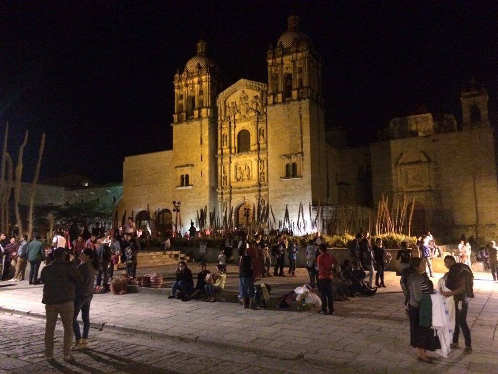 Cathedral of Santo Domingo by night