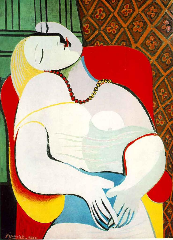 """""""Le Reve,"""" Pablo Picasso"""