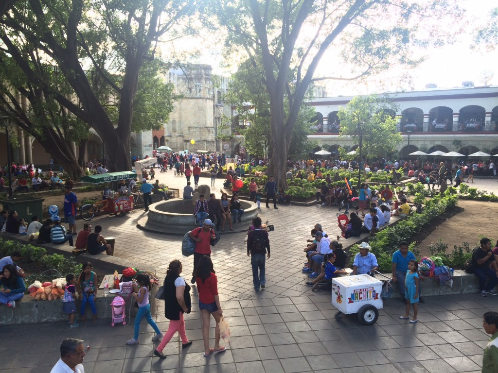 Zocalo, the central square