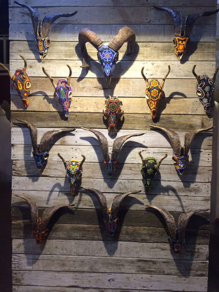 One tiny sample of Oaxacan art