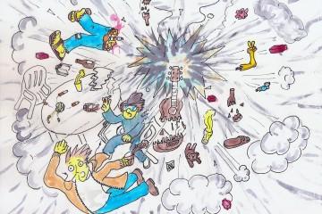 Il explosion