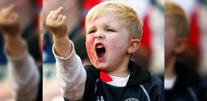 insult finger