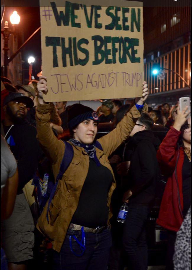 protest jew