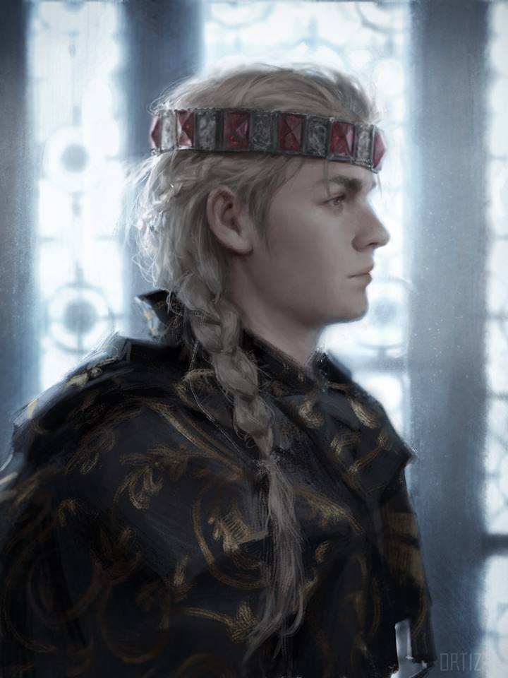 King Daeron I, the Young Dragon, pg 87., from the book A Song of Fire and Ice, by Karla Ortiz