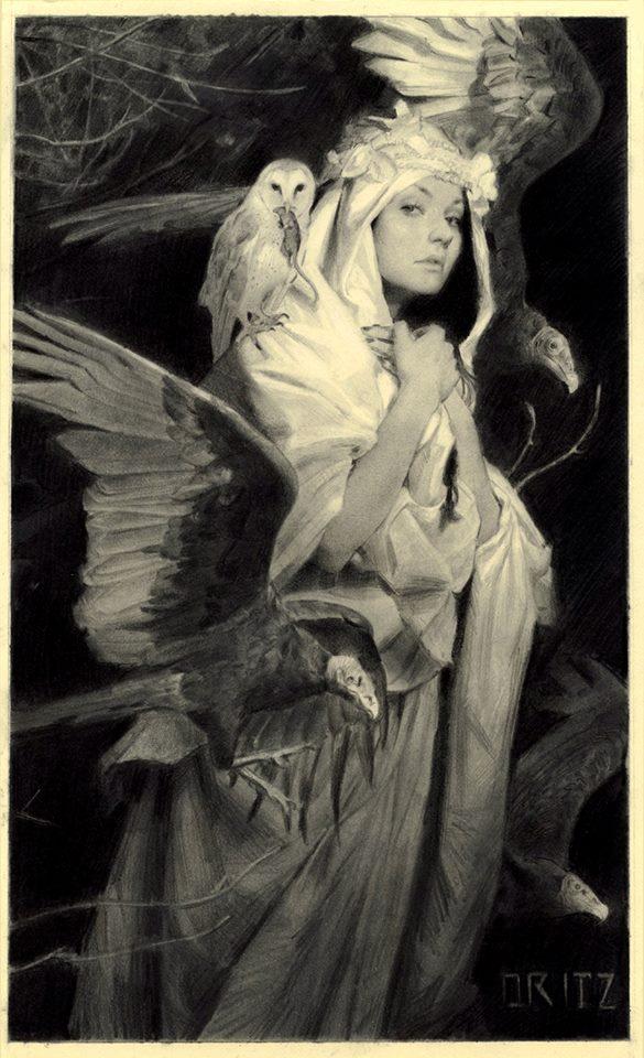 """""""The Death I Bring"""" by Karla Ortiz."""