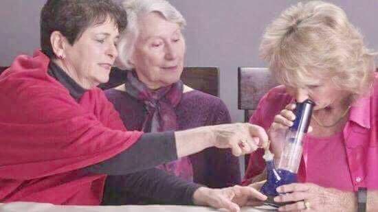 Grandma weed