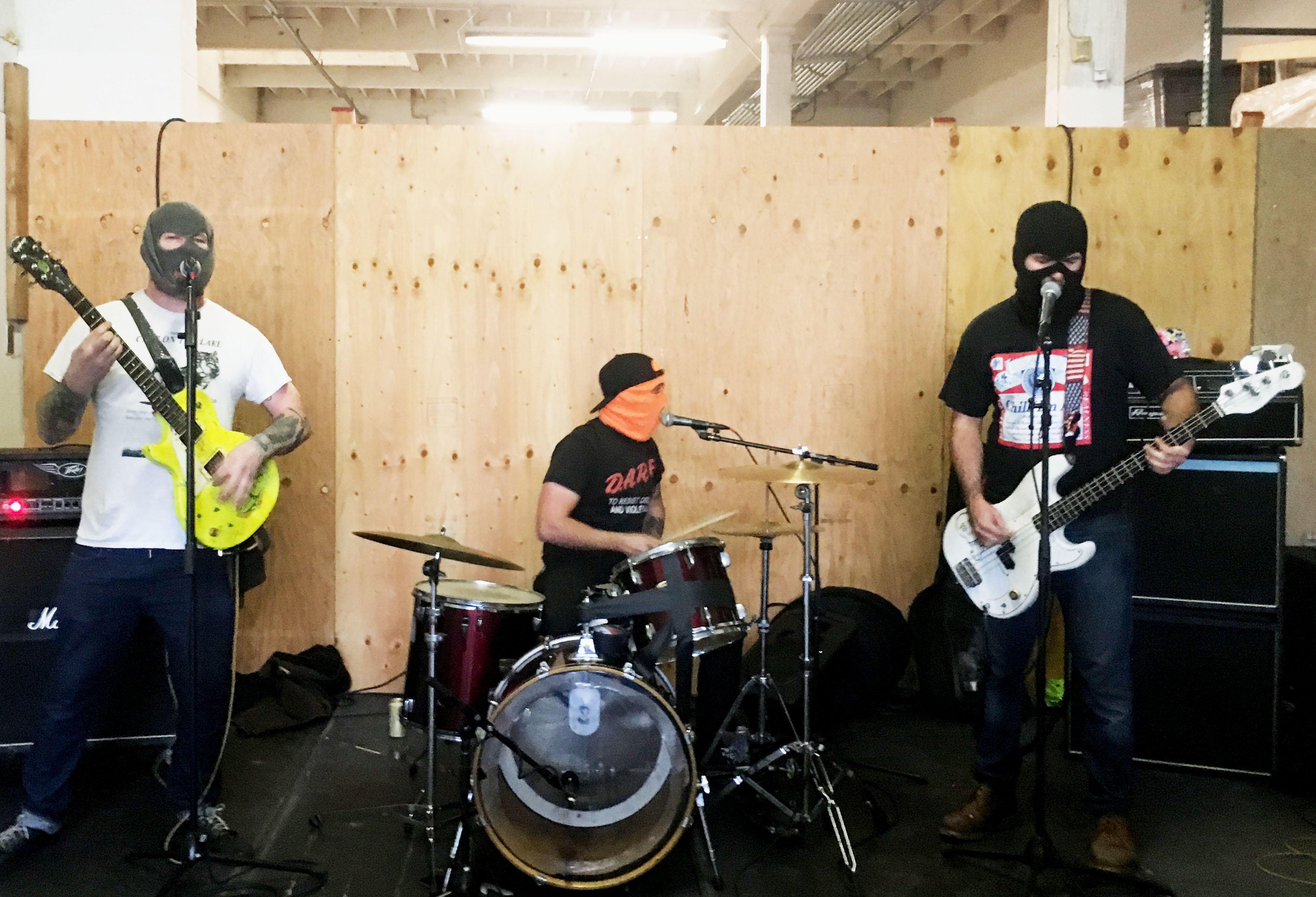 """The Band's name is """"Butt Problems"""" so naturally they get top billing in this article"""
