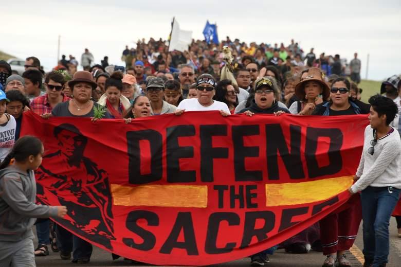 dakota protest