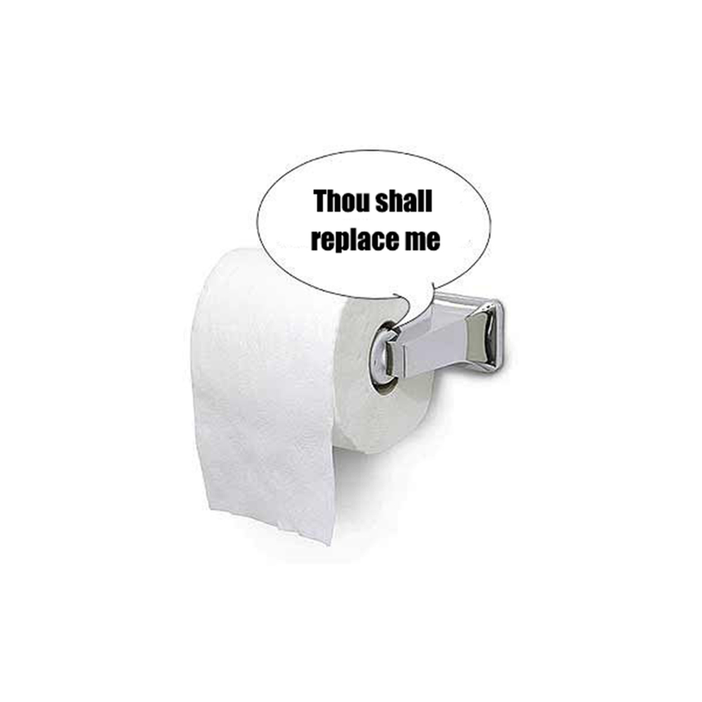 Talking Toilet Paper Roll