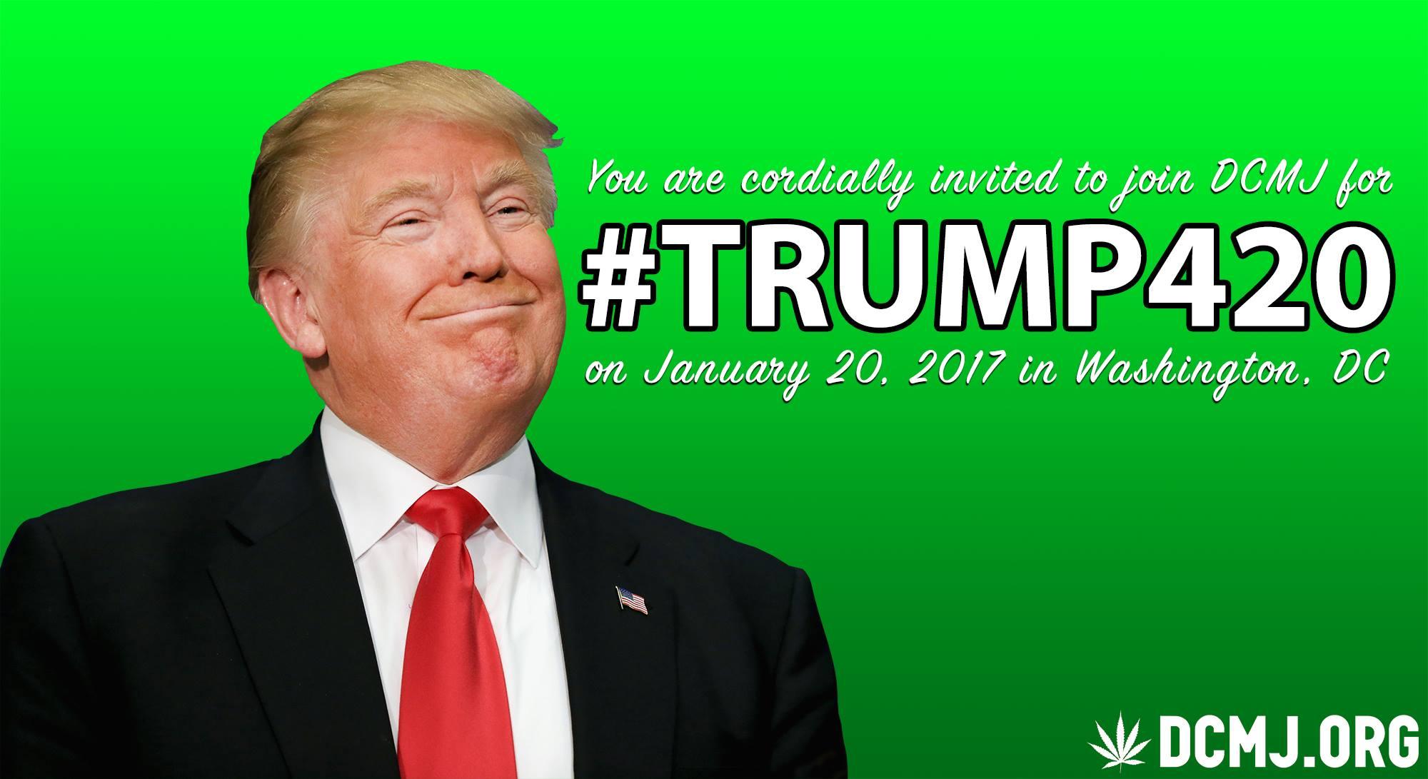 trump 420  inauguration