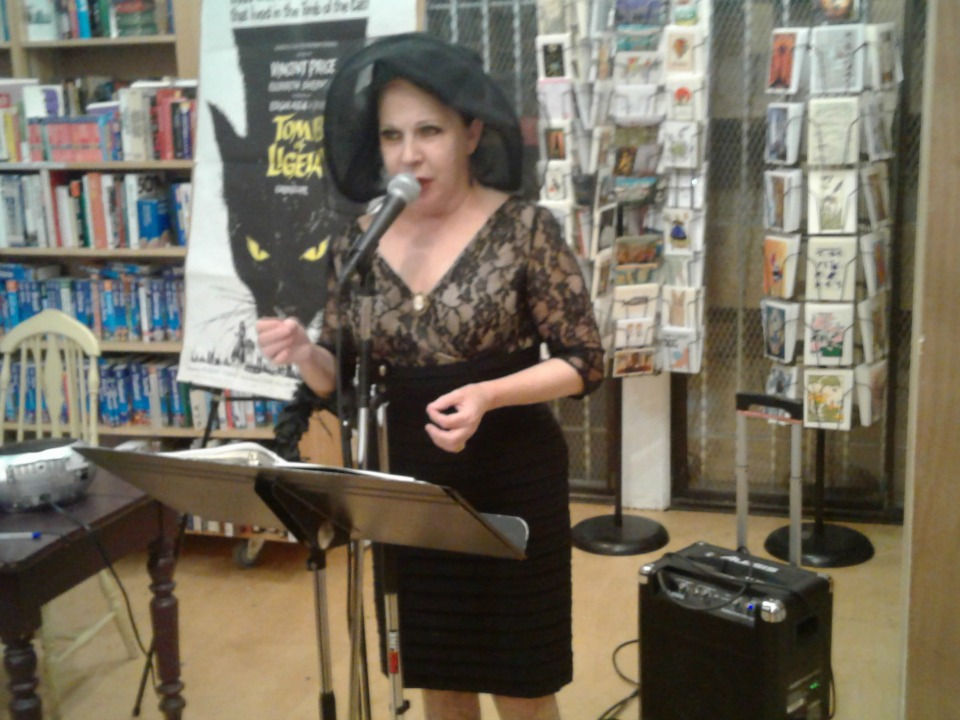 Connie Champagne reads Poe's The Bells