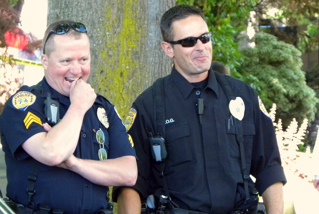 Happy Cops