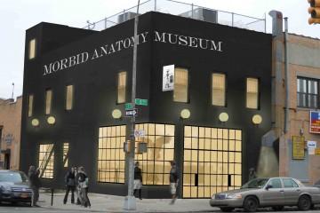 Morbid Anatomy Museum Exterior