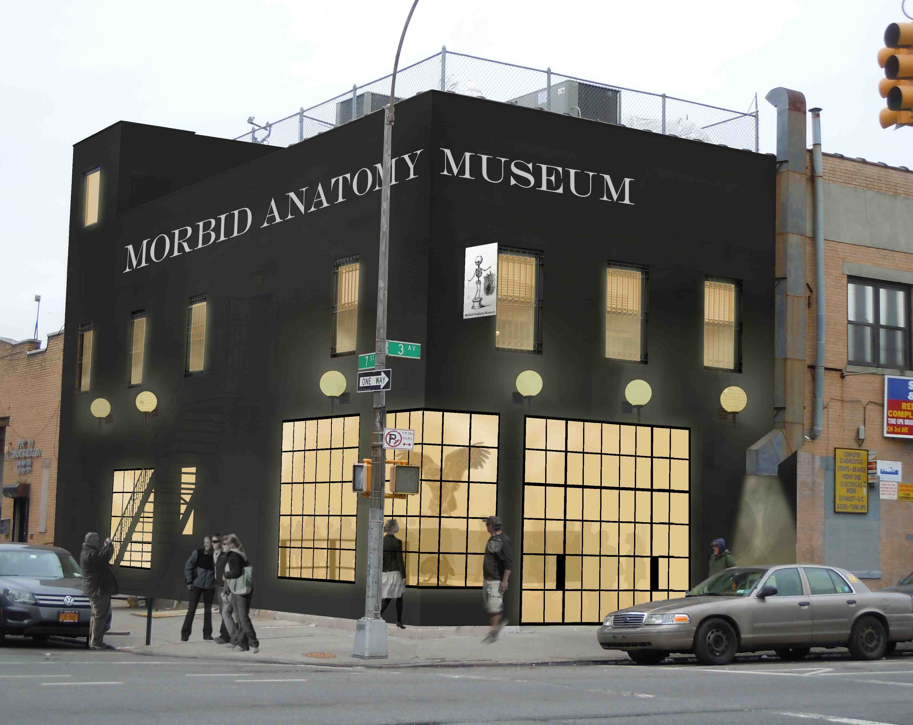 Morbid Anatomy Museum New York