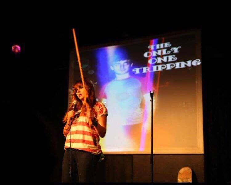 "Tiana Miller at ""The Only One Tripping"" comedy show"
