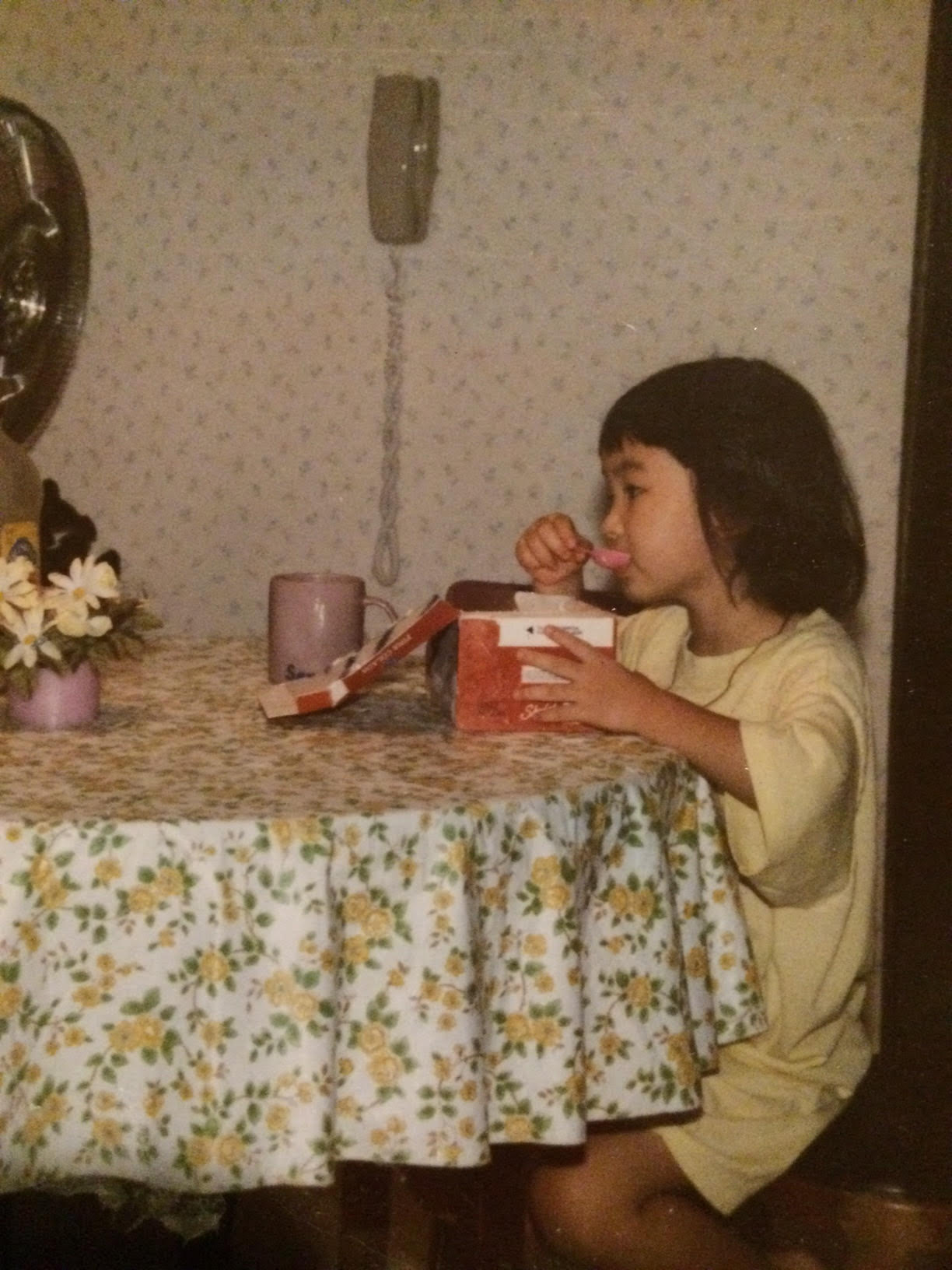 This was around the time I discovered ice cream was a good coping mechanism.