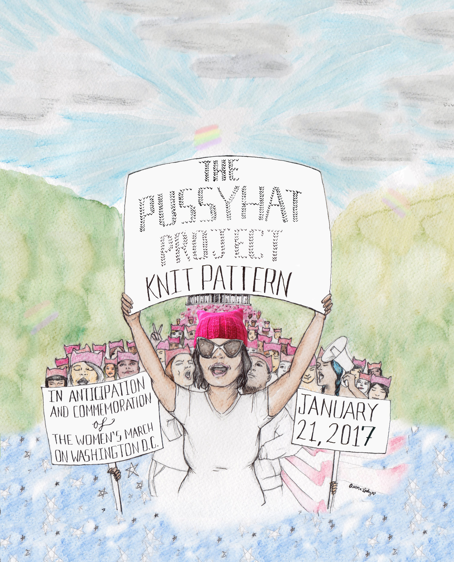 pussyhat project inauguration