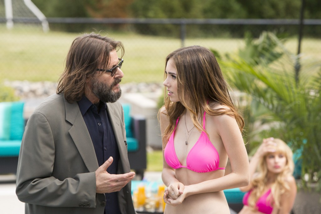 Haley Pullos and Judd Nelson/Lifetime