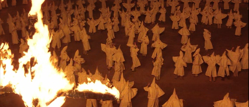 """The KKK depicted in the Coen Brothers film """"O Brother, Where Art Thou? """" (2000) - http://mrmovierbknapp.blogspot.com/"""