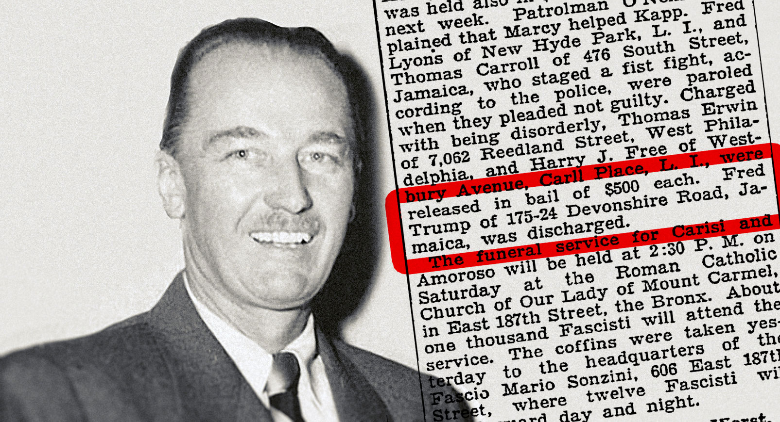 Trumps Dad was probably a member of the KKK - https://www.vice.com/en_us/article/all-the-evidence-we-could-find-about-fred-trumps-alleged-involvement-with-the-kkk