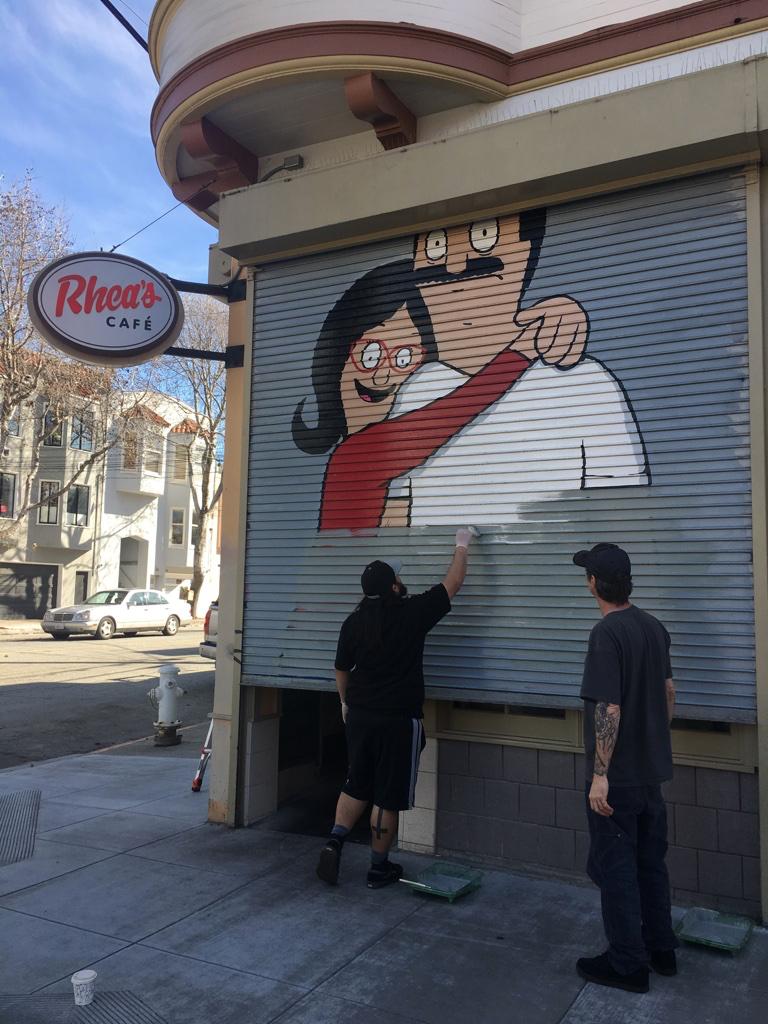 bobs mural rheas