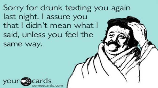 drunk texting emem