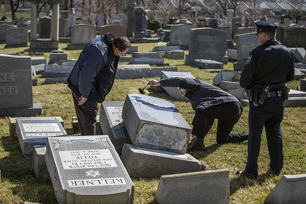jewish cemetery police
